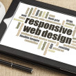 Responsive web design — Stockfoto #39806797