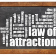 Law of attraction word cloud — ストック写真 #40166659