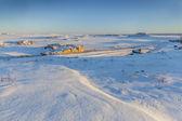 Colorado prairie in winter — Stock Photo