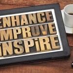 Enhance, improve, inspire — Stock Photo #40978321