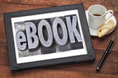 Ebook (electronic book)  — Stock Photo