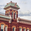 Historic firehouse in Fort Collins — Foto Stock