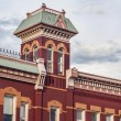 Historic firehouse in Fort Collins — Stockfoto