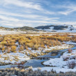 Beaver swamp in Rocky Mountains — Stock Photo