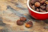 Sun dried Turkish apricots — Stock Photo