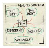 Jak odnieść sukces porady — Zdjęcie stockowe