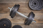 Exercise weights  — Stock Photo