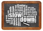 Reducing stress tips — Stock Photo