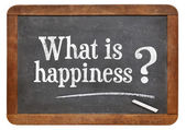 What is happiness question — Stock Photo