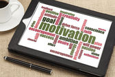 Motivation word cloud — Stok fotoğraf