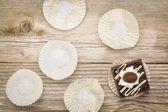 Dessert eating concept — Stock Photo