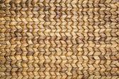 Water hyacinth woven mat — Stock Photo