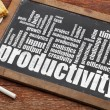 Productivity word cloud — Stock Photo #48266021
