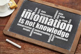 Information is not knowledge  — Stock Photo