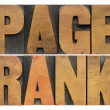 Page rank word abstract — Stock Photo #49009161