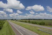 Freeway in Missouri — Stock Photo