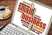Small business word cloud  — Foto de Stock