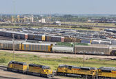 Union Pacific Bailey rail yard — Stock Photo