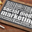 Social media marketing — Stock Photo #50355179