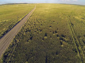 Colorado prairie aerial view — Stock Photo