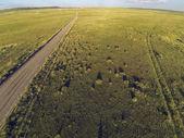 Colorado prairie aerial view — Stock Photo