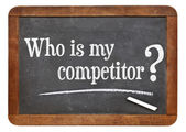 Who is my competitor — Stock Photo