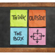 Think outside the box concept — Stock Photo #50960819