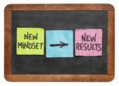 Nové myšlení a výsledky — Stock fotografie