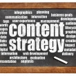 Content strategy word cloud — Stock Photo #51178593