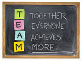 Team - teamwork concept  — Stock Photo