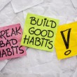Break bad, build good habits — Stock Photo #51417855