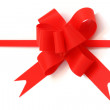Red gift bow — Stock Photo #2327470