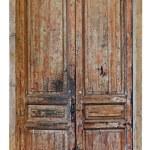 Very old door — Stock Photo #18452827