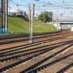 The railway — Stock Photo #18453117