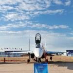 Sukhoi Su-35 (NATO reporting name: Flanker-E) — Stock Photo #18455695
