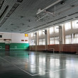 Empty sports hall - Stock Photo