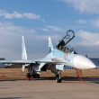 Sukhoi Su-35 (NATO reporting name: Flanker-E) — Stock Photo