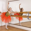 Stock Photo: Young ballerina