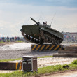 Infantry fighting vehicle — Stock Photo