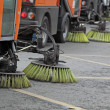 Cleaning of streets - Stock Photo