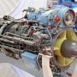 Turboshaft engine — Stock Photo