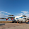 Il-76 (NATO reporting name: Candid) — Stock Photo