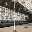 Stock Photo: Deserted station