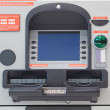Cash dispense — Stock Photo