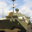 Armoured troop-carrier — Stock Photo