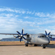 Antonov An-140 - Stock Photo
