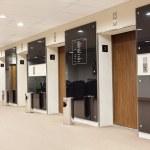 Elevators hall — Stock Photo