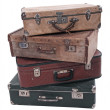 Stock Photo: Suitcases