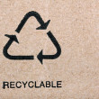 Recyclable - Foto de Stock