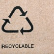 Recyclable - Stockfoto